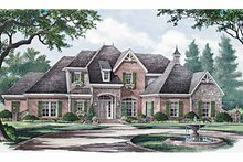 House Plan Design - Country Exterior - Front Elevation Plan #952-183