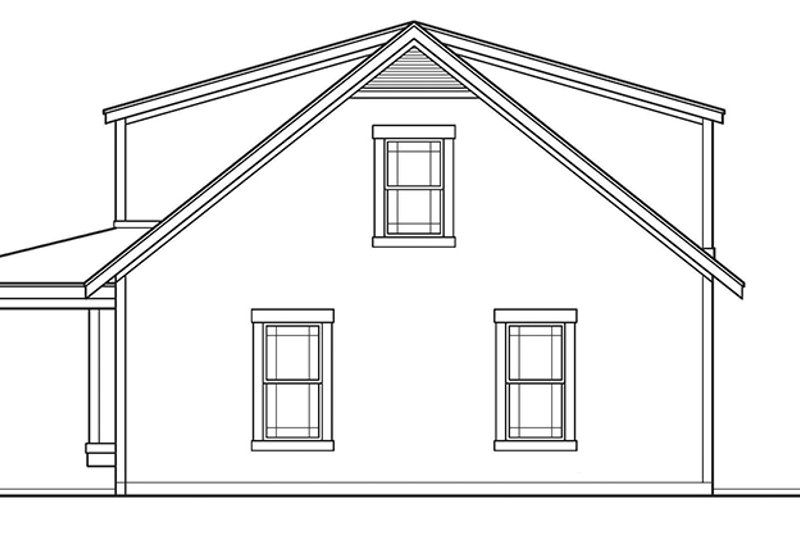 Country Exterior - Other Elevation Plan #472-239 - Houseplans.com