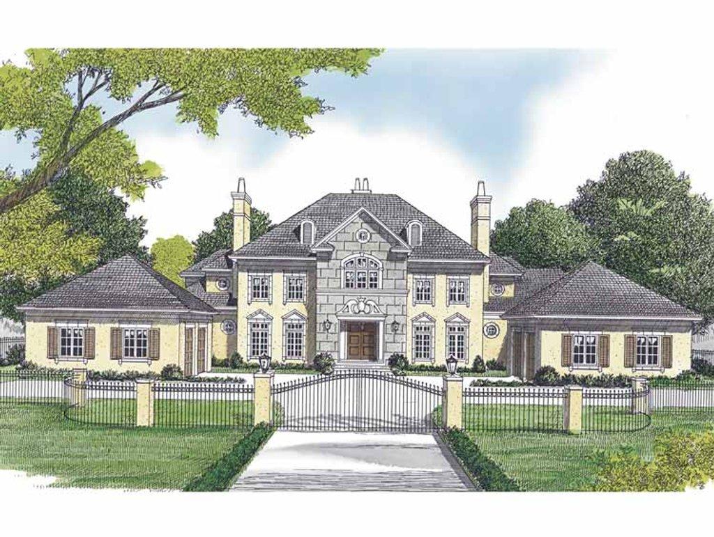 European style house plan 5 beds 5 5 baths 6909 sq ft for European farmhouse plans