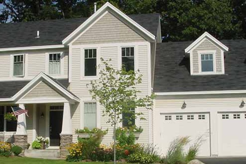 Country Exterior - Front Elevation Plan #320-1488 - Houseplans.com