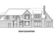 European Style House Plan - 4 Beds 3.5 Baths 4304 Sq/Ft Plan #48-259 Exterior - Other Elevation