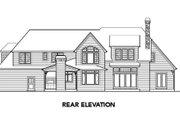European Style House Plan - 4 Beds 3.5 Baths 4304 Sq/Ft Plan #48-259