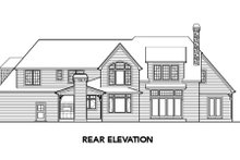 European Exterior - Other Elevation Plan #48-259