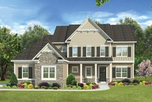 Traditional Exterior - Front Elevation Plan #1010-136
