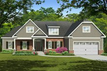 Home Plan - European Exterior - Front Elevation Plan #1010-146