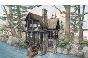 Cabin Style House Plan - 2 Beds 1.5 Baths 1187 Sq/Ft Plan #928-246