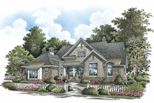 Dream House Plan - Craftsman Exterior - Front Elevation Plan #929-861