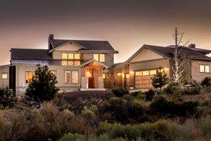 Craftsman Exterior - Front Elevation Plan #895-50