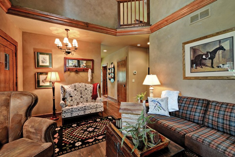 Cabin Interior - Other Plan #942-25 - Houseplans.com