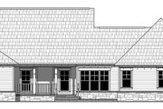 Craftsman Style House Plan - 4 Beds 2.5 Baths 2199 Sq/Ft Plan #21-438 Exterior - Rear Elevation
