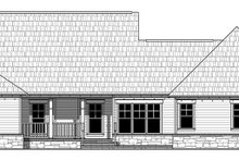 Architectural House Design - Craftsman Exterior - Rear Elevation Plan #21-438