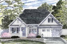 House Plan Design - Ranch Exterior - Front Elevation Plan #316-254