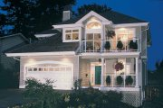 Contemporary Style House Plan - 3 Beds 2.5 Baths 2163 Sq/Ft Plan #47-913
