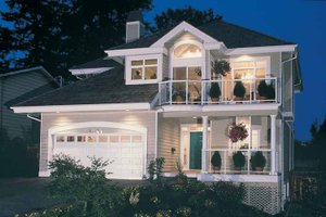 Contemporary Exterior - Front Elevation Plan #47-913