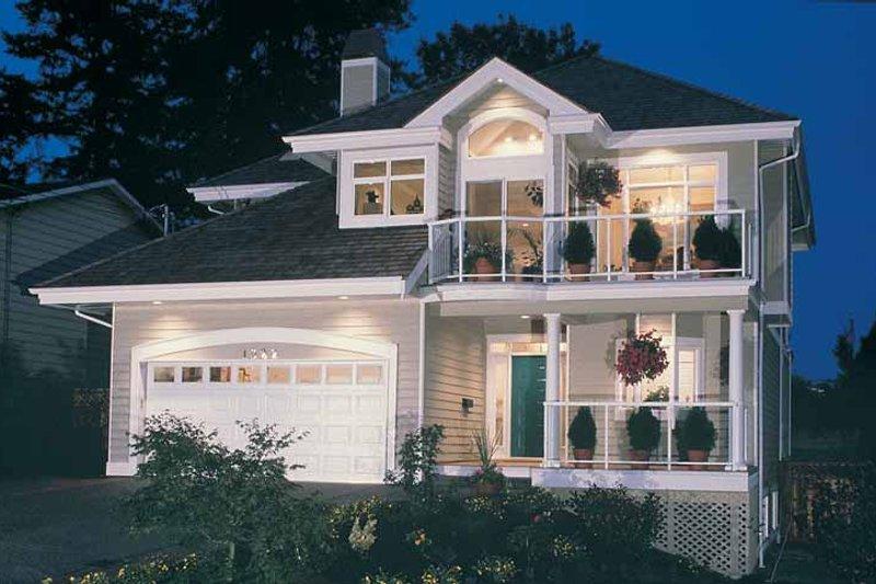 House Plan Design - Contemporary Exterior - Front Elevation Plan #47-913