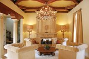 Mediterranean Style House Plan - 5 Beds 5 Baths 7340 Sq/Ft Plan #1058-11 Interior - Family Room