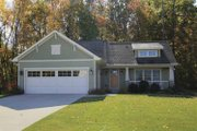 Craftsman Style House Plan - 4 Beds 3 Baths 2121 Sq/Ft Plan #928-138 Exterior - Front Elevation