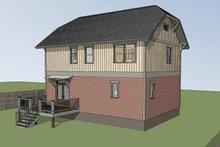 Craftsman Exterior - Other Elevation Plan #79-297
