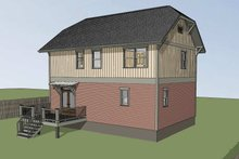 Architectural House Design - Craftsman Exterior - Other Elevation Plan #79-297