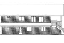 Home Plan - Country Exterior - Other Elevation Plan #117-836