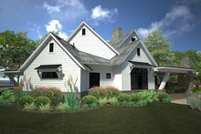 House Plan Design - Country Exterior - Other Elevation Plan #120-250