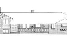 Prairie Exterior - Front Elevation Plan #60-1039