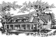Country Style House Plan - 4 Beds 2 Baths 2187 Sq/Ft Plan #329-123 Exterior - Other Elevation