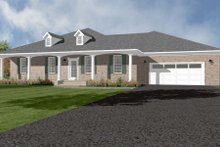 Dream House Plan - Ranch Exterior - Front Elevation Plan #14-245