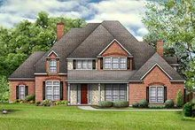 Traditional Exterior - Front Elevation Plan #84-156