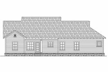 House Plan Design - Craftsman Exterior - Rear Elevation Plan #21-246