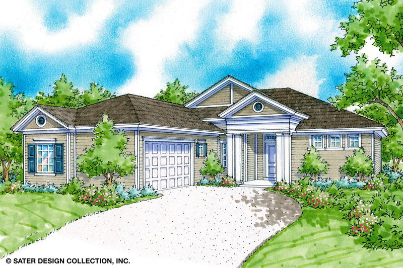 Architectural House Design - Classical Exterior - Front Elevation Plan #930-370