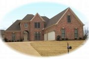 European Style House Plan - 3 Beds 3 Baths 3521 Sq/Ft Plan #81-1167 Exterior - Front Elevation