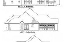 Home Plan - European Exterior - Rear Elevation Plan #17-145