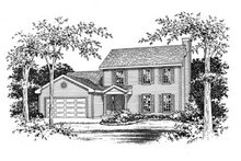 House Plan Design - Traditional Exterior - Other Elevation Plan #22-205