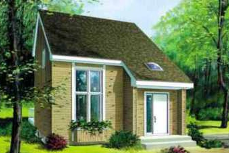 House Plan - 2 Beds 2 Baths 1113 Sq/Ft Plan #25-2283 Exterior - Front Elevation