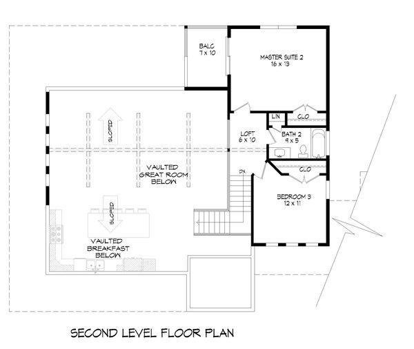 Country Floor Plan - Upper Floor Plan #932-68