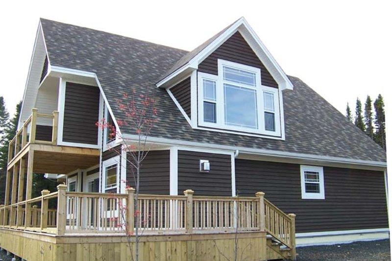 House Plan Design - Contemporary Exterior - Rear Elevation Plan #118-162