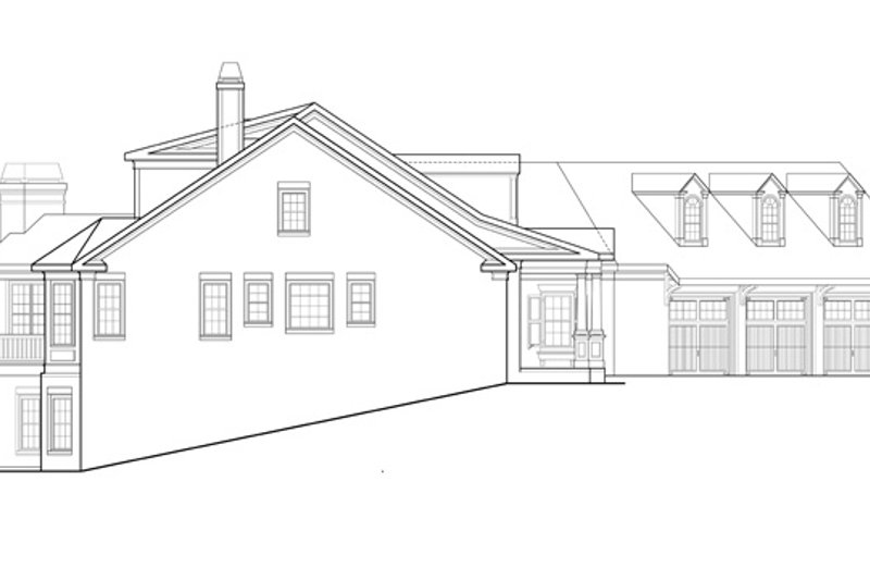 Traditional Exterior - Other Elevation Plan #927-958 - Houseplans.com