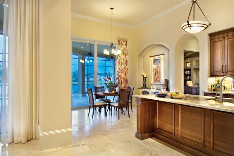 Mediterranean Interior - Kitchen Plan #930-446 - Houseplans.com