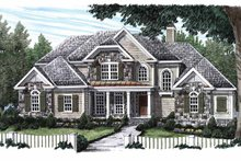 Country Exterior - Front Elevation Plan #927-567