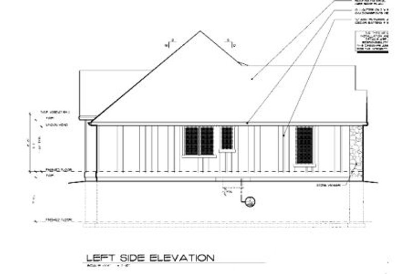 Craftsman Exterior - Other Elevation Plan #48-103 - Houseplans.com