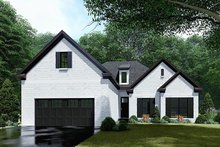 House Plan Design - Traditional Exterior - Front Elevation Plan #923-145
