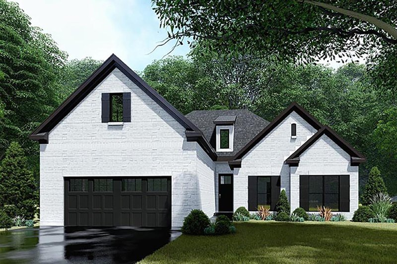 Home Plan - Traditional Exterior - Front Elevation Plan #923-145
