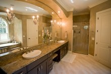 Country Interior - Master Bathroom Plan #37-267