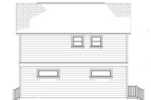 Colonial Exterior - Other Elevation Plan #1058-91