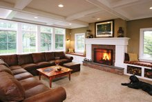 Dream House Plan - Colonial Interior - Family Room Plan #928-97