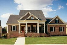 House Plan Design - Classical Exterior - Front Elevation Plan #927-772