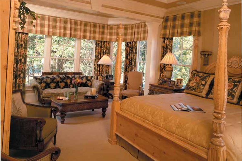 Colonial Interior - Master Bedroom Plan #429-313 - Houseplans.com