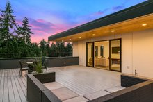 Home Plan - Modern Exterior - Outdoor Living Plan #1066-3