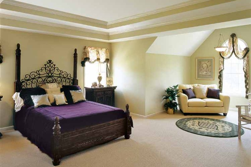 Mediterranean Interior - Master Bedroom Plan #927-141 - Houseplans.com